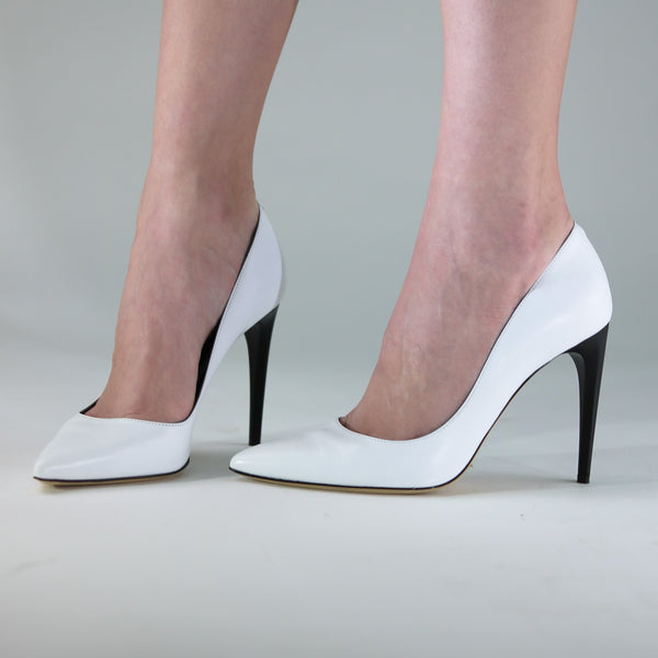 italian leather pumps