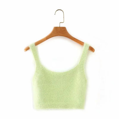 Ada Fuzzy Knit Top