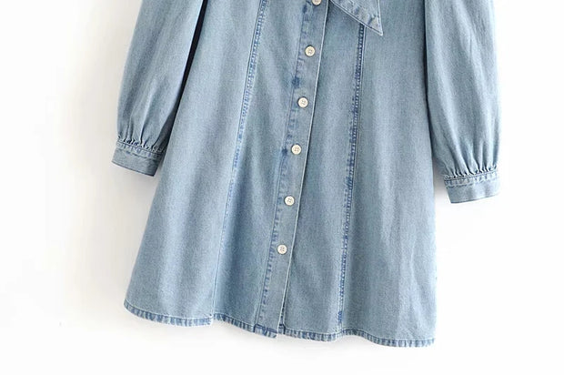 Sawyer Denim Dress