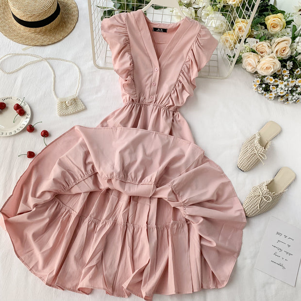 Laurel Ruffle Dress