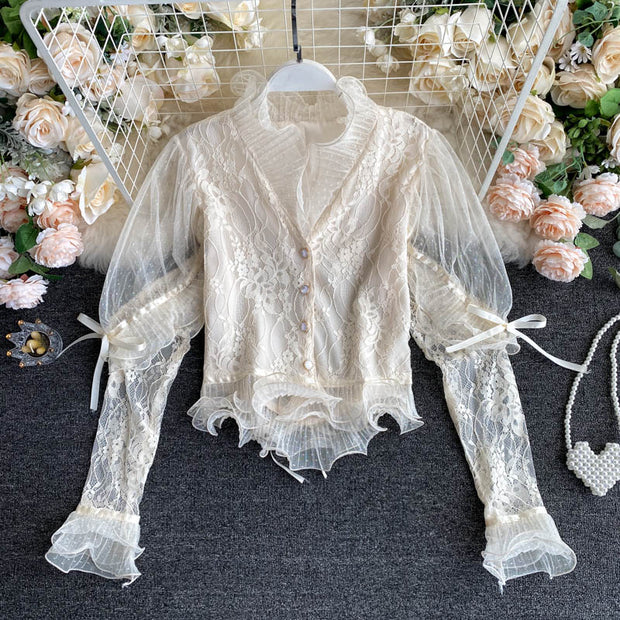 Journee Lace Top