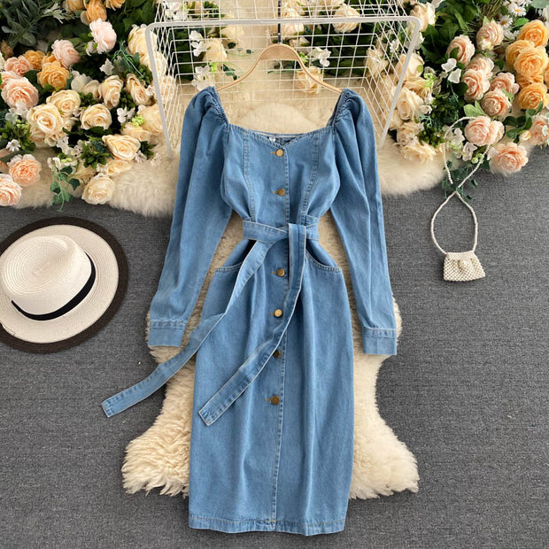 Josephine Denim Dress