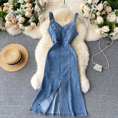 Addisyn Denim Dress