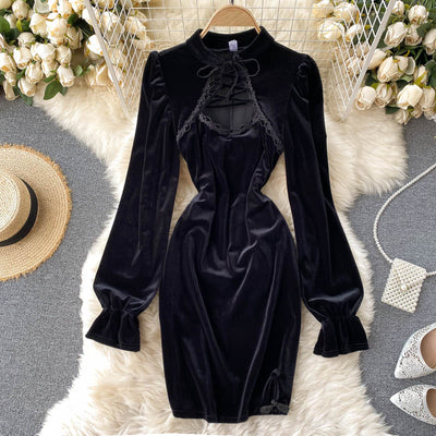 Jayla Velvet Dress