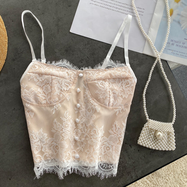 Lilah Lace Top