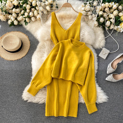 Joy Two Piece Knit Set