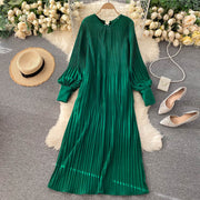 Katelyn Pleated Dress