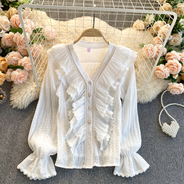 Gracelyn Lace Top