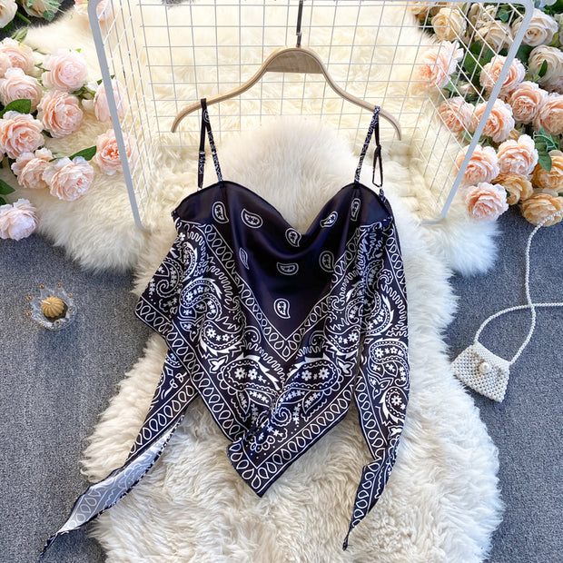 Haven Scarf Top