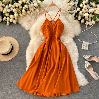 Amber Open Back Dress