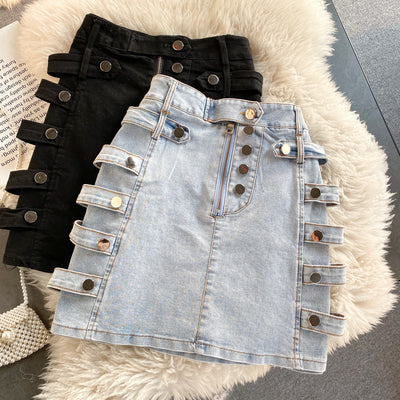 Alyson Denim Skirt