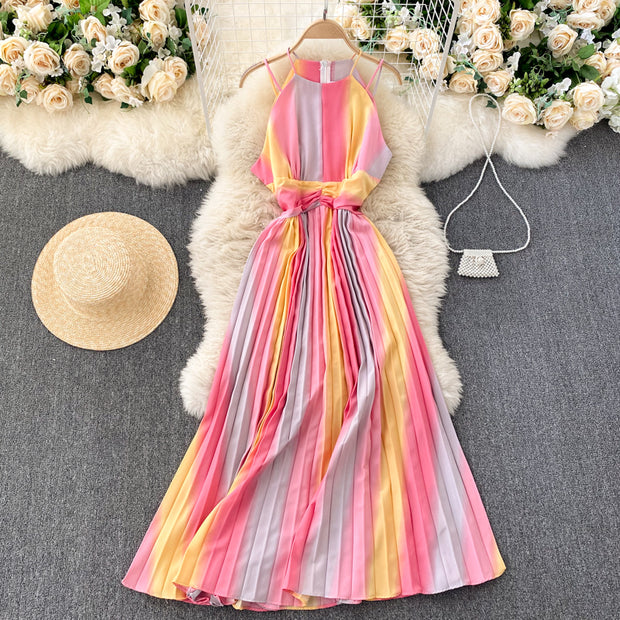 Joyce Pleated Dress
