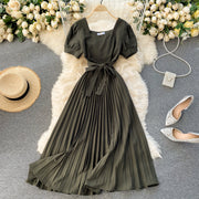 Aileen Pleated Dress