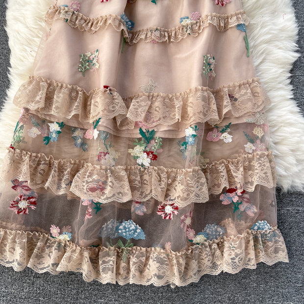 Delaney Embroidered Dress
