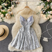 Gloria Sequin Dress