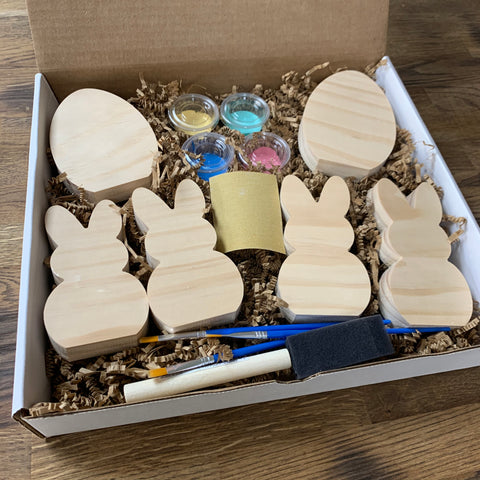Bunny Peep DIY Paint Craft Kits