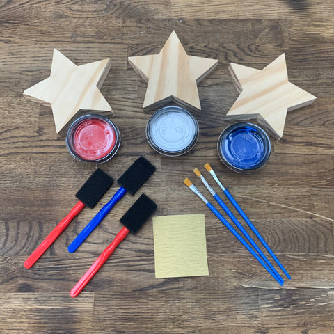 4th of July Combo Kit:  Includes Flag Kit + Star Kit
