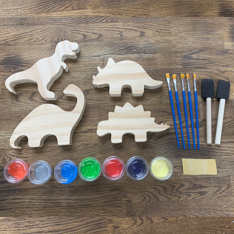 Dinosaurs DIY Paint Craft Kit