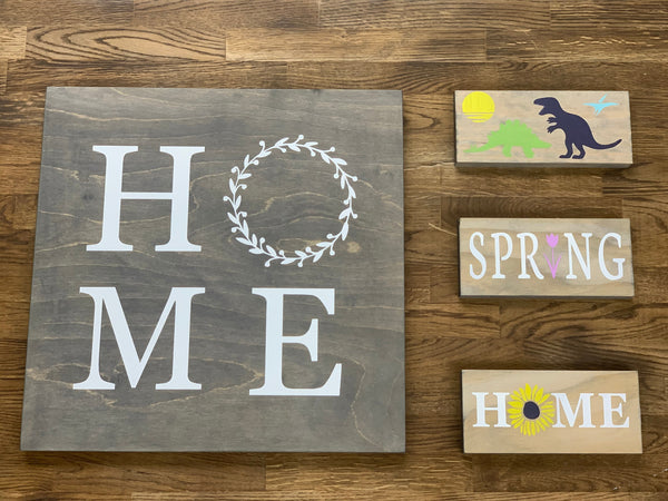 DIY Wall Art Paint Kit with Stencil