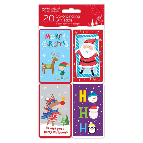 Christmas Gift Tags 20 Pack