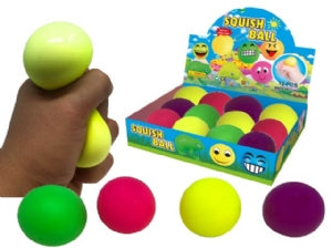 Squishy Neon Stress Ball 6cm