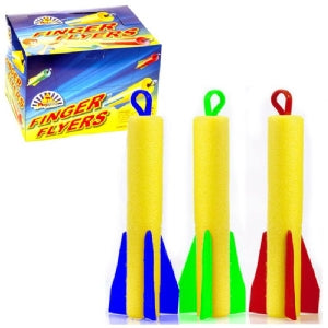 Finger Flyer Soft Foam Rocket 19cm