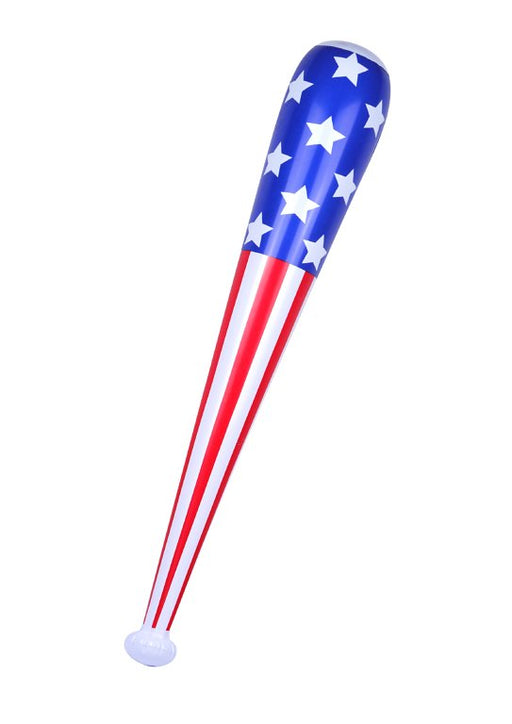 Inflatable Baseball Bat with American Flag (85cm)