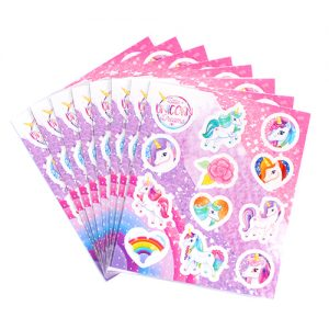 Unicorn Sticker Sheets x 8