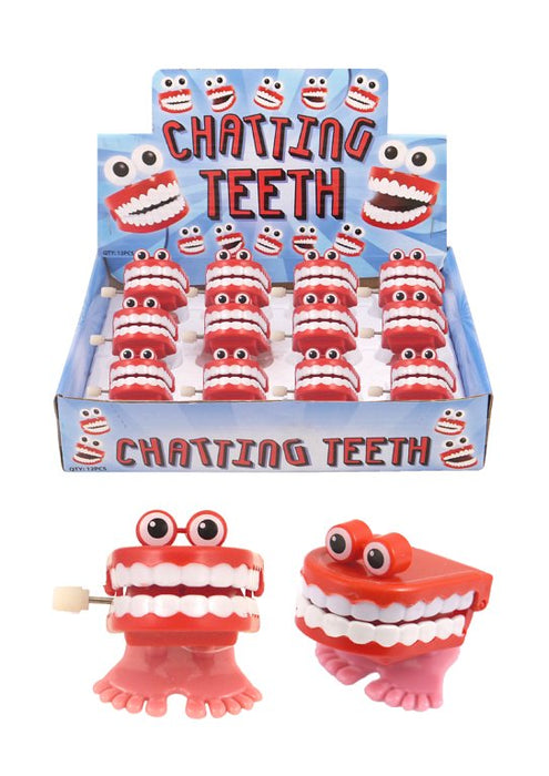 Chatting Teeth With Eyes