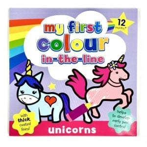My 1st Colour In The Line: Unicorns