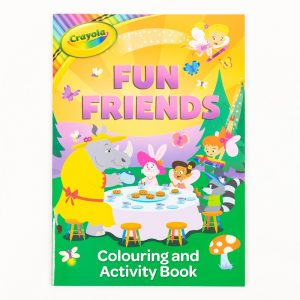 Crayola Fun Friends Colouring & Activity Book