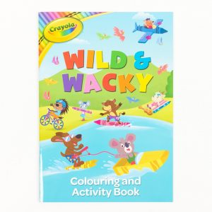 Crayola Wild & Wacky Colouring & Activity Book