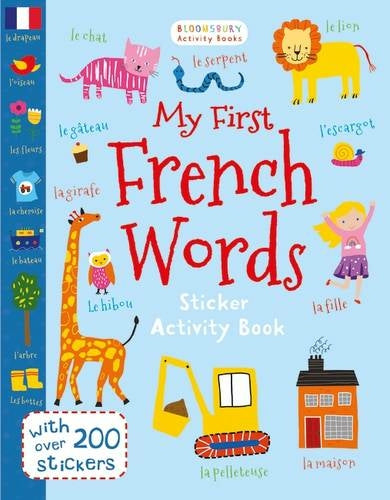 My First French Words Sticker Book