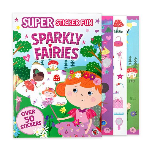 Super Sparkly Fairies Activity Book