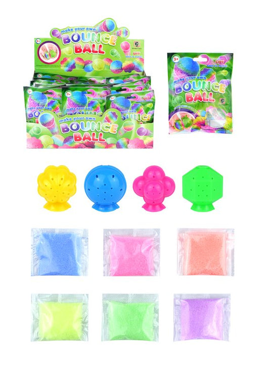 DIY Make Your Own Bouncy Ball 6pc Sets