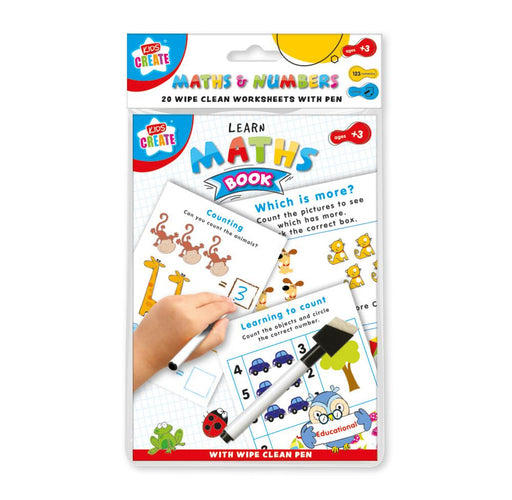Maths Wipe Clean Book