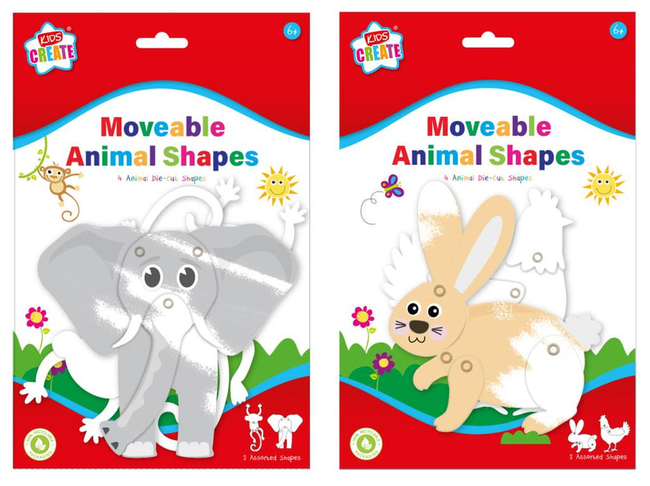 Moveable Animals Shapes