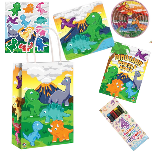 Dinosaur Pre-packed Party Bag