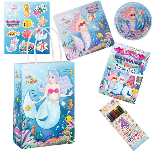 Mermaid Pre-packed Party Bag