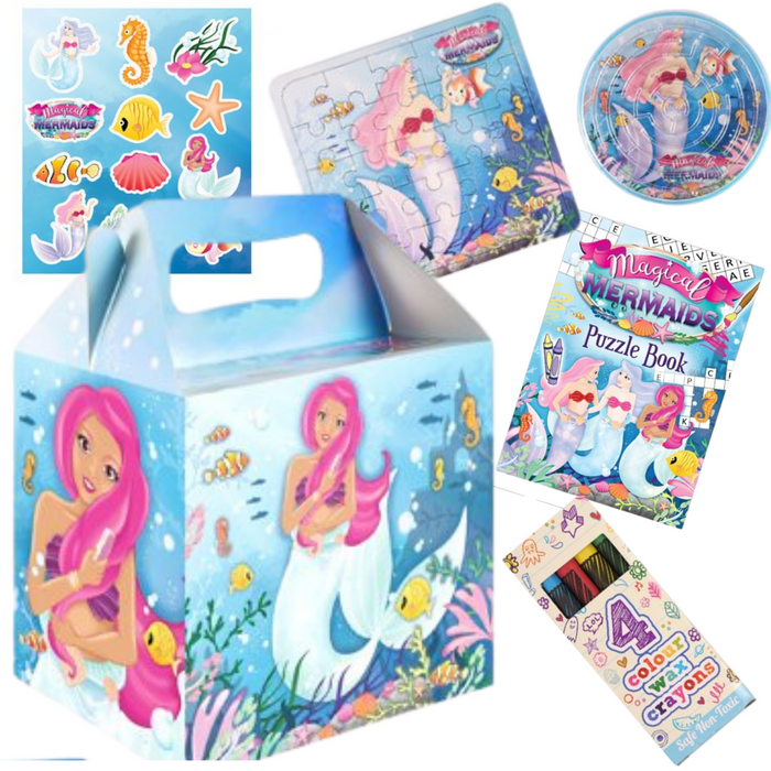 Mermaid Pre-packed Lunchbox