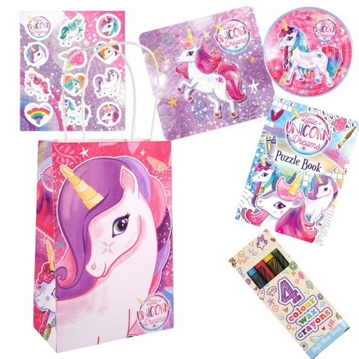 Unicorn Pre-packed Party Bag
