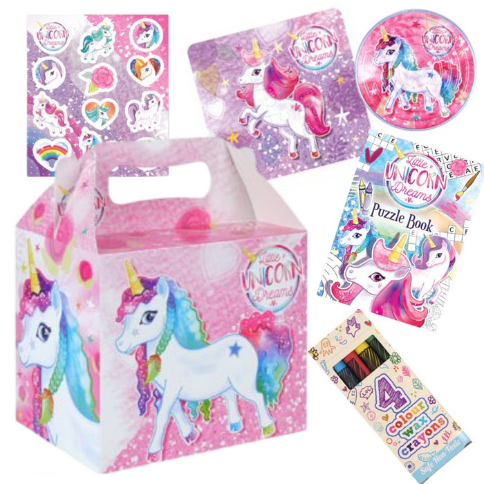 Unicorn Pre-packed Lunchbox