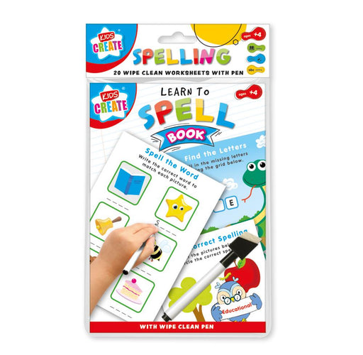 Spelling Wipe Clean Book
