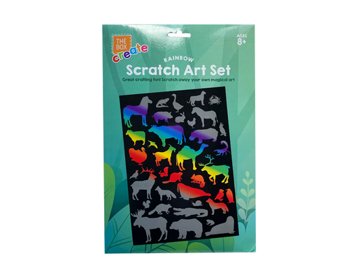 Animal Scratch Art Set