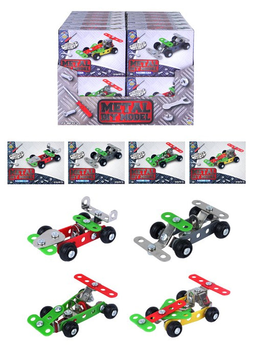 DIY Metal Racing Car Kits