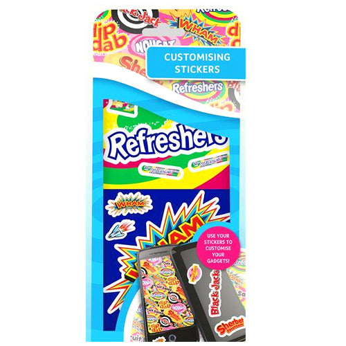 Retro Sweets Customising Sticker Pack