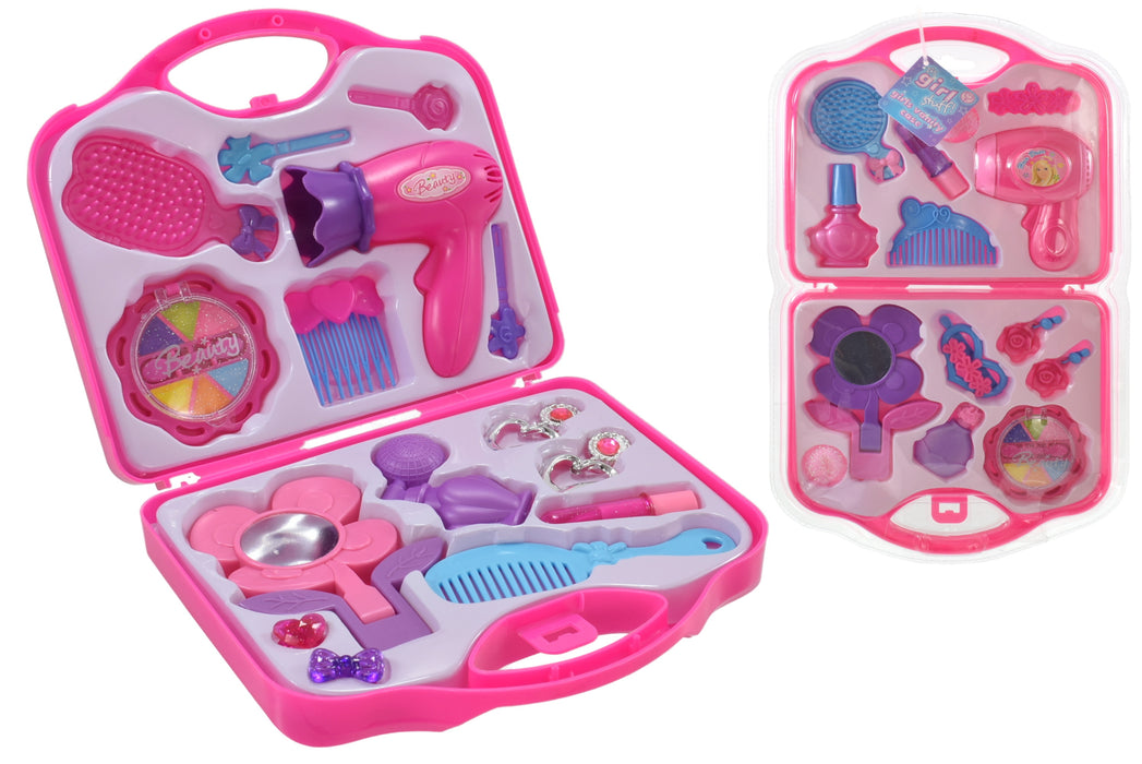 Girls Vanity Case In Clamshell