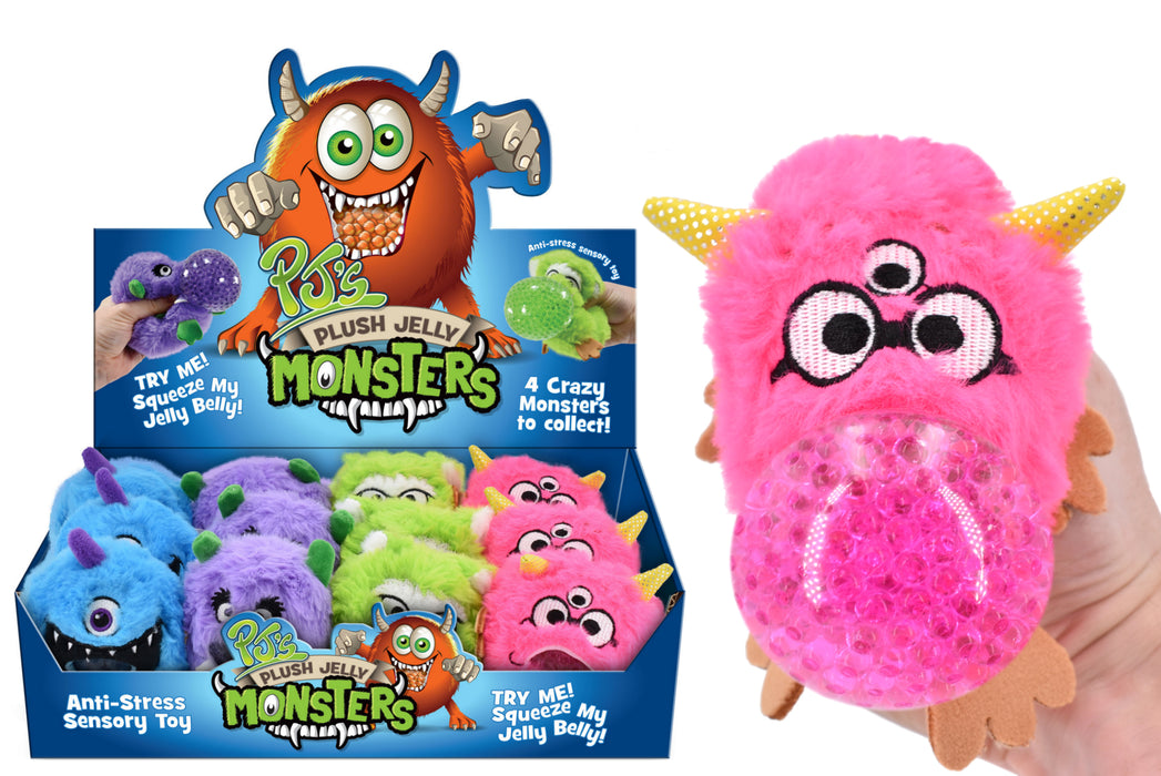 Monsters Plush Jelly Squeezers
