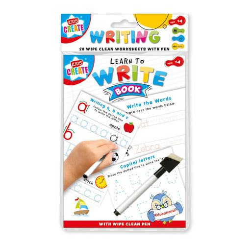 Writing Wipe Clean Book
