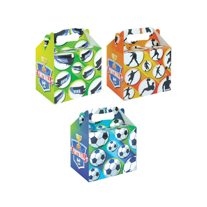 Football Themed Party Lunch Box